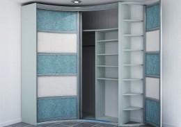 Шкафы-купе радиусные